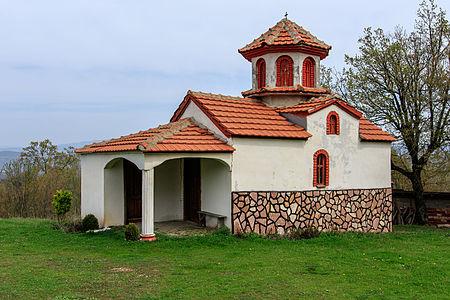 St. Elijah Church in the village Lubnica, Macedonia