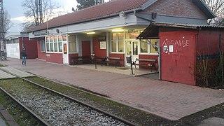Batajnica railway station railway station in Belgrade, Serbia