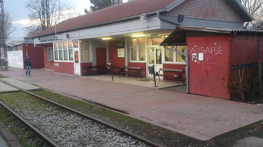 Batajnica railway station
