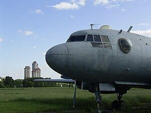 Tushino Airfield - Il-14 on the Tushino airfield