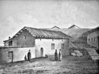Караимская кенасса, 1856, из альбома Карло Басолли
