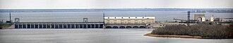 Nova Kakhovka - Image: Каховская ГЭС