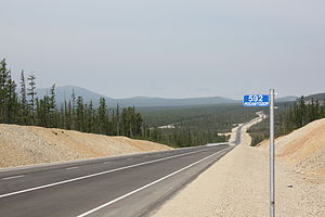 A360 Lena Highway - Land after reconstruction, commissioned in 2014
