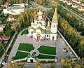 Княжье озеро. Церковь Александра Невского - вид с воздуха - panoramio.jpg
