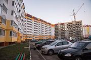 Строительство новых домов в микрорайоне «В»