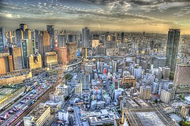 Панорама Осаки с высоты птичьего полёта (2).jpg