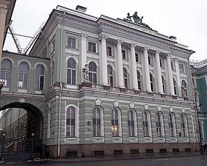 Jean-Baptiste Vallin de la Mothe - Small Hermitage, Saint-Petersburg