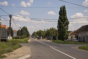 Surčin - Image: Сурчин Војвођанска улица