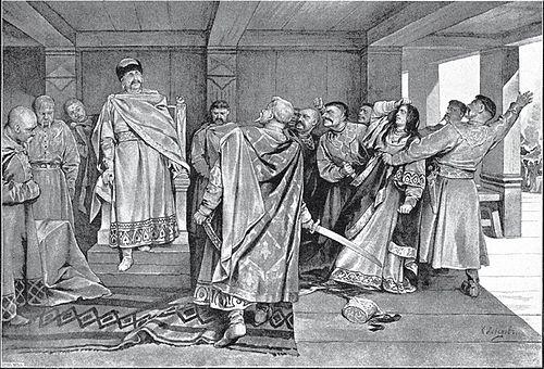 11 галицкий князь ведший упорную борьбу с боярством