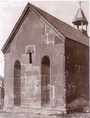 Gethsemane Chapel - Gethsemane Chapel in 1901