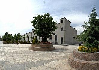 Museum of the Qasr Prison - Image: باغ موزه قصر زندان سیاسی