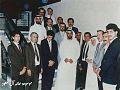 زيارة ولي عهد أبوظبي الشيخ محمد بن زايد آل نهيان عام 1989م لمنزل الشيخ حسان راشد الخزاعي أحد أبناء الأمير راشد الخزاعي والتقطت في عم.jpg