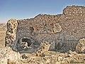 سازهای ساروجی بر فراز قلعه باشقورتاران.jpg