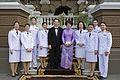 คณะข้าราชการกระทรวงการต่างประเทศ นายกรัฐมนตรี เฝ้าฯ ส - Flickr - Abhisit Vejjajiva.jpg
