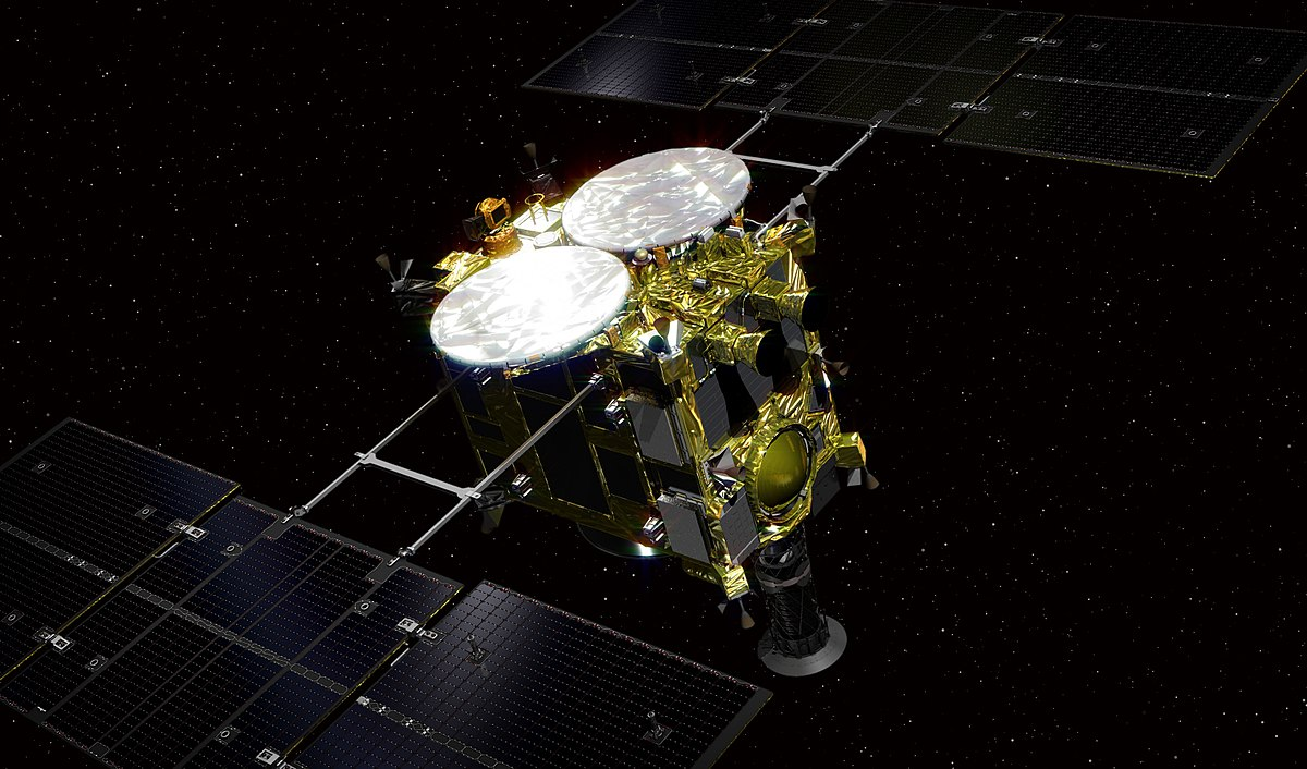 Image result for Hayabusa 2 Spacecraft Successfully Deployed Landers on Surface of Asteroid