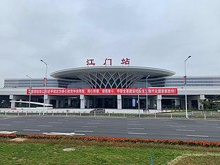 Jiangmen railway station Railway station in Jiangmen, Guangdong