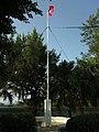 白沙岬燈塔內旗桿.jpg