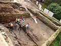 00295 Die archäologischen Ausgrabungen zur Burg Sanok, 2011.jpg