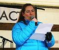 005 Protest gegen Acta in Munich - Sprecherin der Piratenpartei.JPG