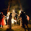 "02014 Wicker man - ""Festfeuer"" in Wola Sękowa-0020.jpg"