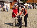 07816 Bilder von der Marktplatzeröffnung im Freilichtmuseum Sanok durch Minister Zdrojewski, am 16. September 2011.jpg
