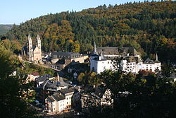 General view of Clervaux.