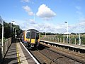 10-16 to Netley just leaving Hamble Station - geograph.org.uk - 1463999.jpg