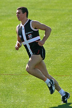 Steven Baker (Australian footballer) - Image: 10. Steven Baker, St Kilda FC 01