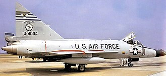 122d Fighter Squadron - 122nd Fighter-Interceptor Squadron – Convair F-102A Delta Dagger 56-1314