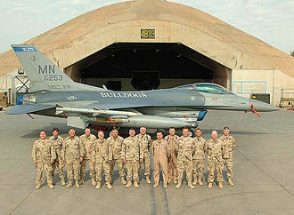 332d Air Expeditionary Wing - Image: 179th Fighter Squadron OIF 2007 Balad AB