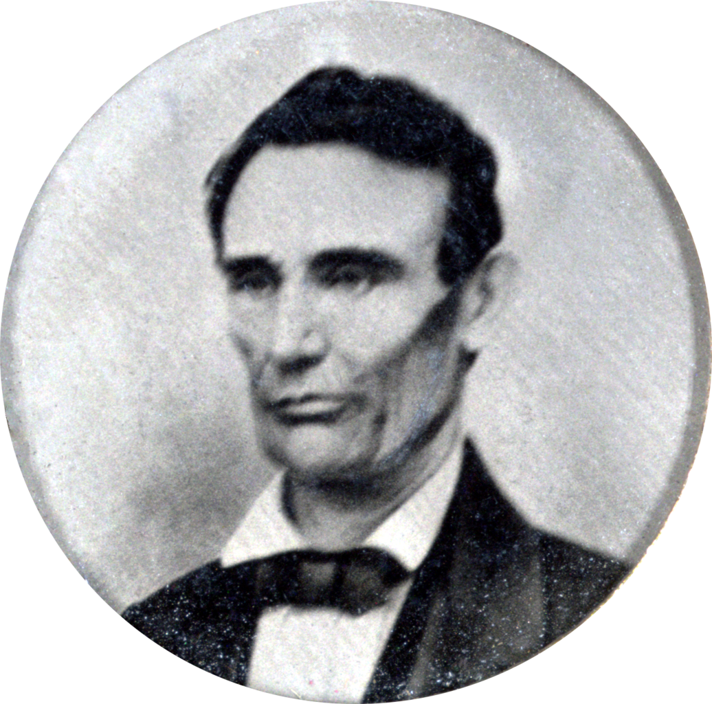 File 1858 Abraham Lincoln Portrait From Campaign Button