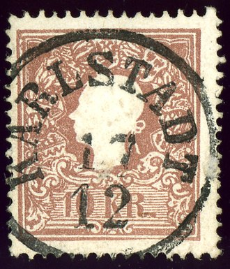 Karlovac - Austrian KK stamp of the 1859 issue