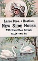 1881 - Laros Brothers & Bastian Trade Card Allentown PA.jpg