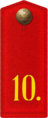 1914 Private of Russian New Ingria 10th infantry regiment p01.png