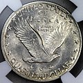 1918-7-S Standing Liberty quarter reverse.jpg