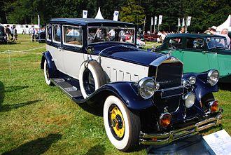 Vintage car - 1929 Pierce-Arrow