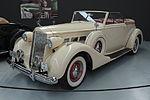 1937 Packard Super Eight Convertible Victoria Model 1501 (Warbirds & Wheels museum).jpg