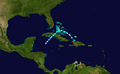 1938 Atlantic tropical storm 8 track.png