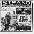 1941 - Strand Theater Ad - 31 Jan MC - Allentown PA.jpg
