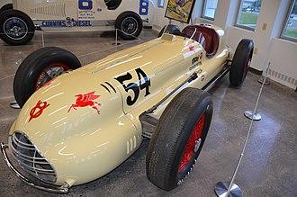 1948 Indianapolis 500 - Image: 1948Novi Indy 500