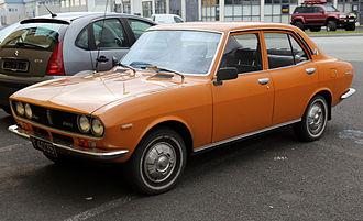 Mazda Capella - First-facelift Mazda 616 sedan (Europe), 1973–1974