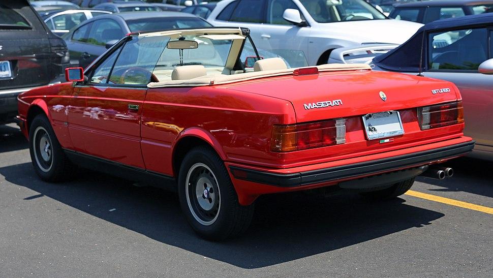 Maserati Biturbo Clutch