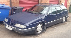 1995 Citroen XM Break VSX Turbo 2.0 Front.jpg