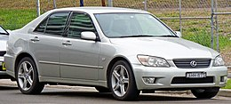 1999-2005 Lexus IS 200 (GXE10R) sedan 04.jpg