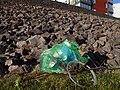 1h suburban plogging Frantorp VastraGotaland Sweden May31 2020.jpg