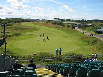 English: 1st Hole, Royal Birkdale 1st Hole, Ro...