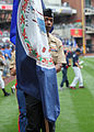 1st MLG carry state flags for Padres game DVIDS564721.jpg