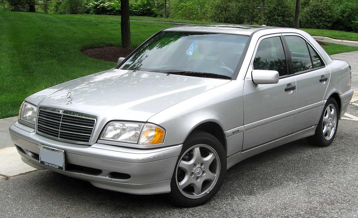 1st Mercedes-Benz C280.jpg