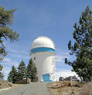 Sierra de San Pedro Mártir - 2.12m telescope at National Astronomical Observatory.