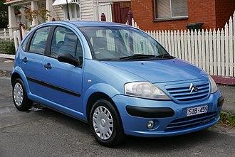 Citroën C3 - Pre-facelift Citroën C3 hatchback